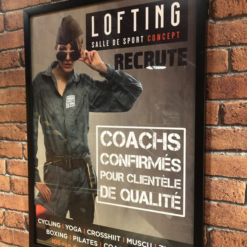 RECRUTEMENT COACH LOFTING